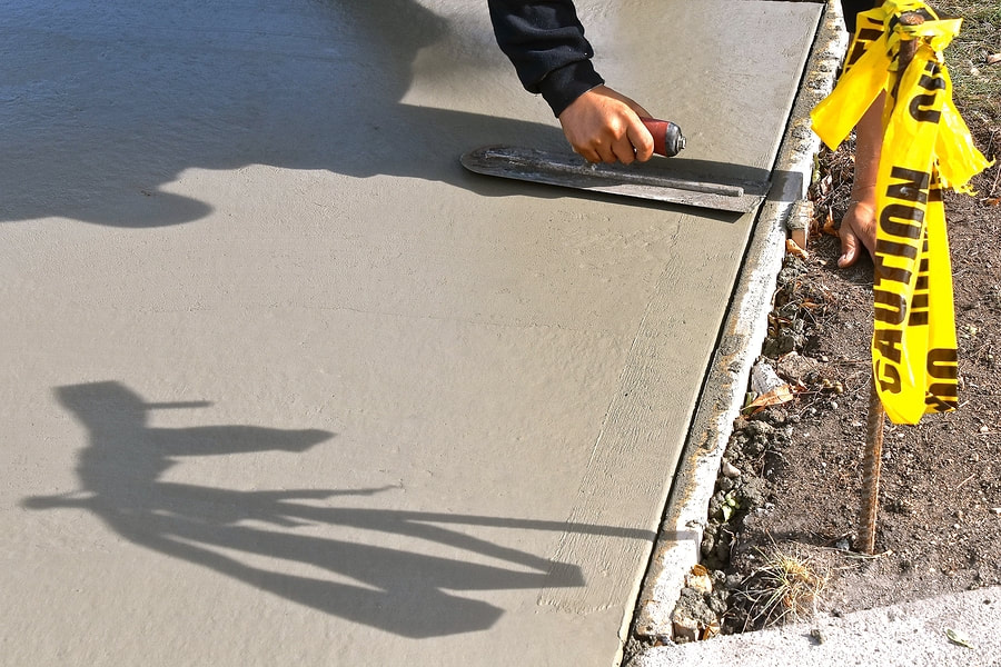 professional concrete patio services