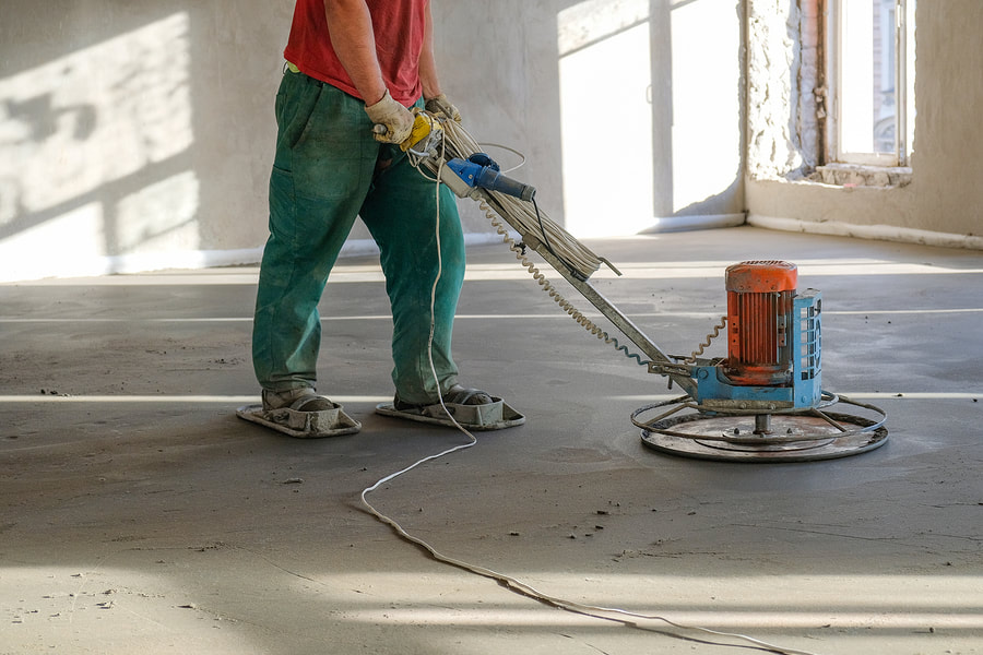 professional concrete polishing service